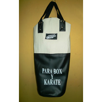 Costal De Lona Para Box Kick Boxin Karate Marca Zepeda.