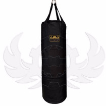 Costal Box Muay Thai Mma 1.5m Piel Genuina Sobrepedid