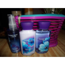Crema,mist,gel De Bano, Size Viaje Bath And Bodyworks