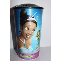 Vaso Tiana La Princesa Y El Sapo Lumiere Princesas Disney