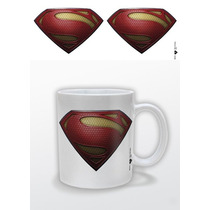 Taza Superman - Man Of Textura De Acero De Cerámica Taza De