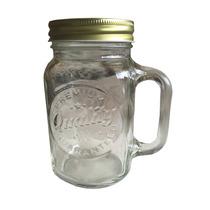 Tarro Mason Jar Tapa Metalica Gratis Etiqueta Personalizada!