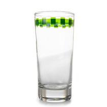 Vaso De Vidrio 1 Pza Detalles Color Verde- Crown Baccara
