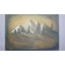 Cuadro Pintado Con Acrilicos Sobre Canvas, 65 X 95 Cm.