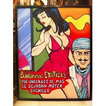 Arte Pop Bailarinas Exoticas.. Karla Patricia Asencio Minue