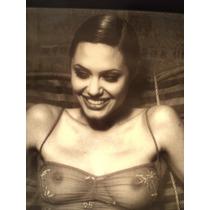 Angelina Jolie Poster Imagen Realzado Poliester 102 X 72
