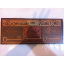 Cuadro Vintage,30cm De Largo, Alto 13.5cm,ancho 13mm