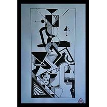 Pinturas Del Artista Plastico Juan Canales Acrilica S/papel