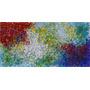 Pintura Acrilica Sobre Tela Thousand Stars 120x60x2cm
