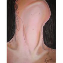 Anatomía - Dibujo Colores Pastel Sobre Tela