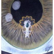 En El Interior(quetzalcoatl) Dibujo Color Pastel Papel Amate