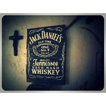 Letrero En Madera Jack Daniels