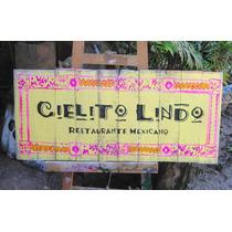 Letrero Personalizado En Madera Reciclada