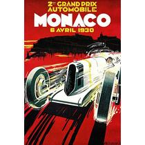 Gran Premio De Mónaco 1930, Vintage Anuncio Automovilismo