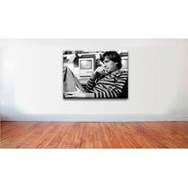 Poster Steve Jobs Cuadro Arte Canvas 80 X 60 Cm