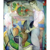 Cuadro En Tela La Mujer En El Pozo Diego Rivera 1913