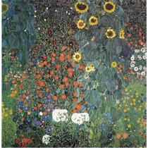 Cuadro En Tela El Girasol Gustav Klimt 1906