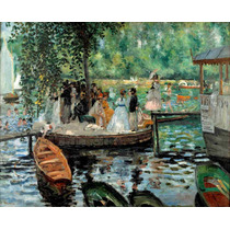 Cuadro En Tela Auguste Renoir, La Grenouillère Francia 1869