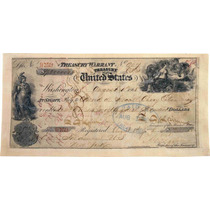 Cuadro En Tela Cheque Compra Territorio De Alaska 1868