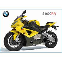 Cuadro En Tela Poster Motocicleta Bmw S1000rr 193 Hp 2013