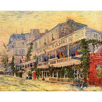 Lienzo Tela Restaurante Sirena Vincent Van Gogh 1887 50 X 63