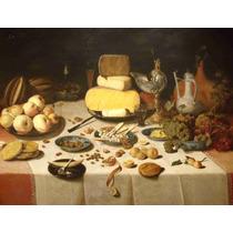 Lienzo Tela Sala De Banquetes Floris Claesz Van Dyck 50x66cm
