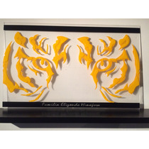 Cuadro Minimalista Mirada Tigre Arte Diseño Decoracióndecora