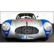Lienzo Automóvil Mercedes Benz 1952 3 Carrera Panamericana