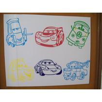 Stickers Gb Juego De 6 Stickers Cars Por Solo $300 Pesos
