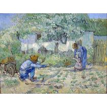 Lienzo Tela Primeros Pasos Vincent Van Gogh 1890 50 X 67 Cm