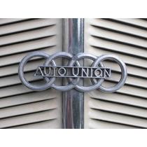 Lienzo Tela Logo Auto Union Cuatro Aros 1930 50 X 67 Cm