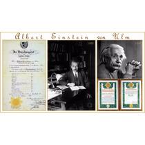 Lienzo Tela Albert Einstein Premio Nobel Calificaciones Foto