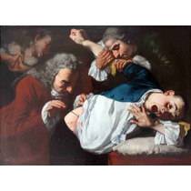 Lienzo Tela Cirugía En Arte Operación Médica 1753 50 X 68 Cm
