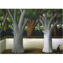 Lienzo-tela, Hombre En La Calle, Fernando Botero, 57 X 80 Cm