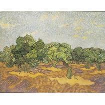 Lienzo Tela Vincent Van Gogh Huerto Olivos 1889 50 X 64 Cm
