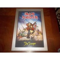 Iron Maiden 3d Eddie Trooper Vintage Usado No Judas,dio,ozzy