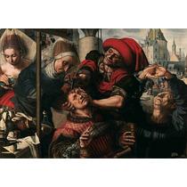 Lienzo Tela Cirugía En Arte Cirujano Museo Del Prado 50 X 72
