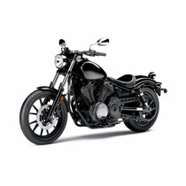 Lienzo Tela Moto Yamaha Bolt 2014 , 60 X 90 Cm, Poster