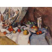 Lienzo Tela Pintor Paul Cezanne Naturaleza Muerta 50 X 68 Cm