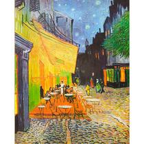 Lienzo En Tela. Van Gogh, Café. 50 X 60 Cm.