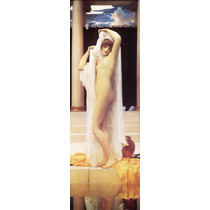 Lienzo-tela, El Baño De Psique, Frederic Leighton 40x120 Cm