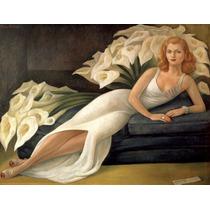 Lienzo En Tela. Diego Rivera. 70 X 90 Cm