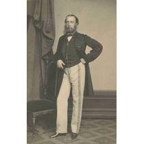 Lienzo Tela Fotografía Maximiliano I De México 1857 80x50cm