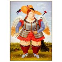 Lienzo-tela, San Miguel Arcángel, Fernando Botero, 60x85 Cm