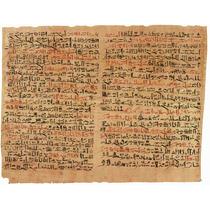 Lienzo Tela Cirugía En Arte Papiro Egipcio Tratado Cirugía