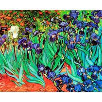 Lienzo En Tela. Van Gogh. Irises, 50 X 60 Cm.