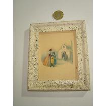 Pequeño Cuadro Decorativo Impresión Muy Bonita Madre Y Niños