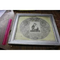 Antiguuo Cuadro Serigrafia, Fotoluminisente