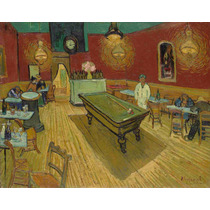 Lienzo Tela El Cafe De Noche Vincent Van Gogh 50 X 64 Cm