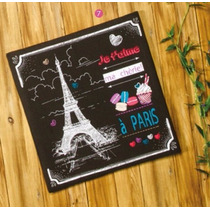 Cuadro Decorativo Modelo Eiffel Niñas Vianney Hermoso !!!
